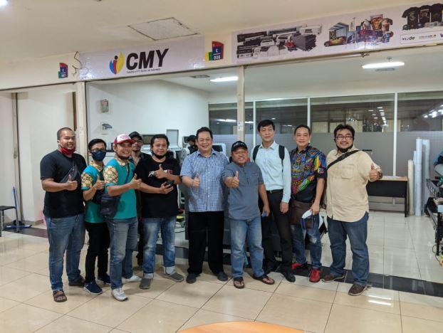 Peresmian Buka Cabang di Jakarta dengan peluncuran mesin terbaru Binterjet pada Era Pandemi