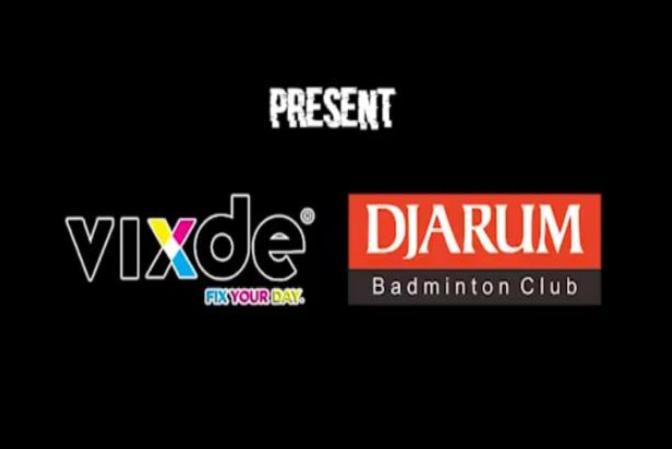 Dipercaya oleh Klub Badminton Djarum untuk Sablon Custom Live dengan Vixde Printer Laser White Toner