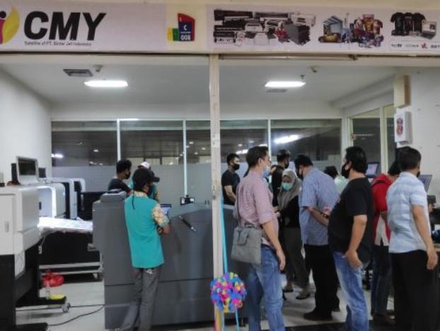 Respon Positif oleh pemain besar Digital Printing Apparel dan pemain sablon di Indonesia dengan mesin terbaru Binterjet