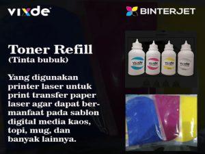Toner Refill (OKI, HP, Vixde)